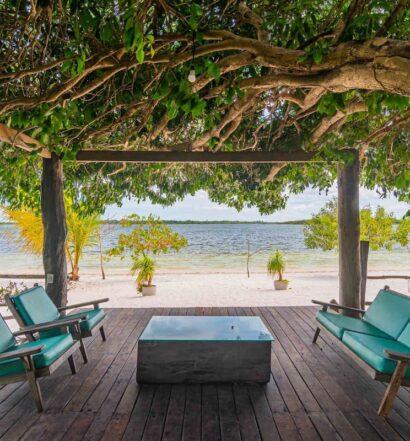 Vista do Villa Papagaio, um dos Airbnb em Jericoacoara