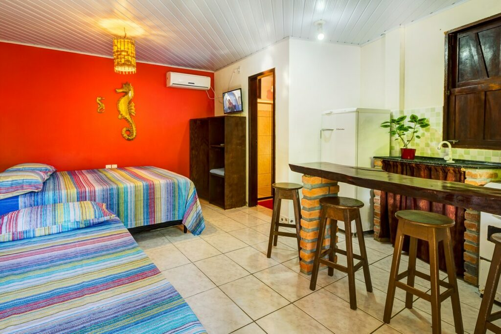 Apartamento a 40 m do Mar em Morro de São Paulo