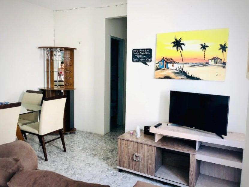 airbnb Apartamento a 100 m da Passarela do Caranguejo em aracaju