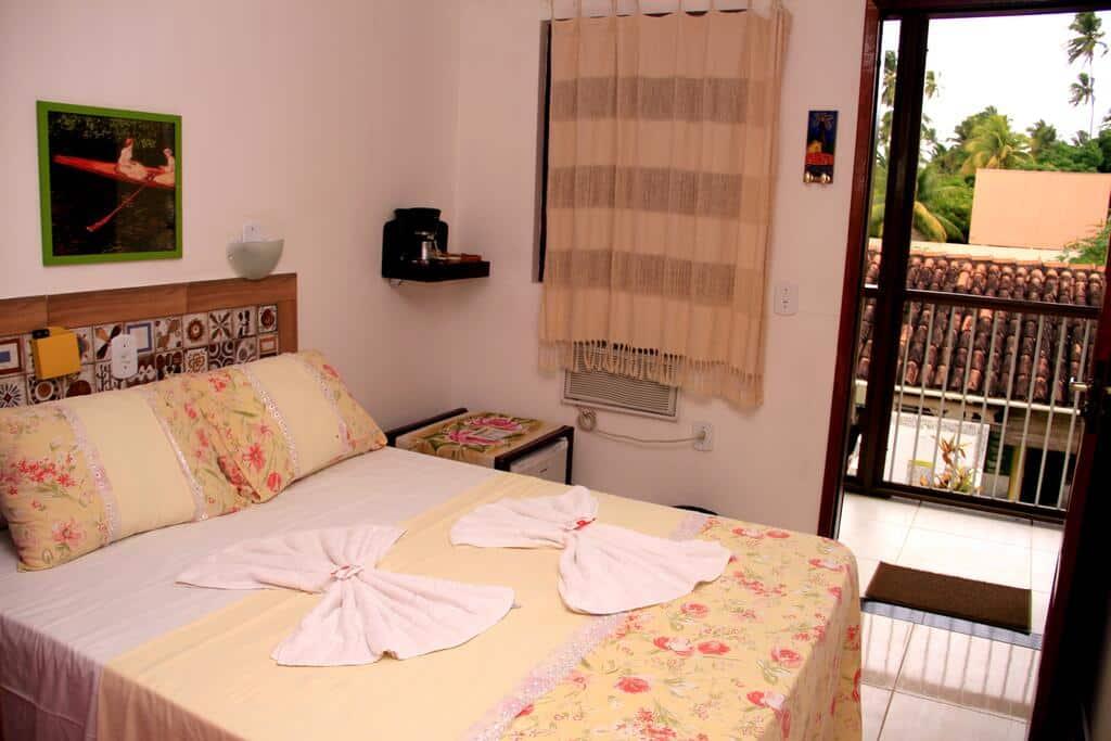 quarto do Camping e Chalés Beira Mar