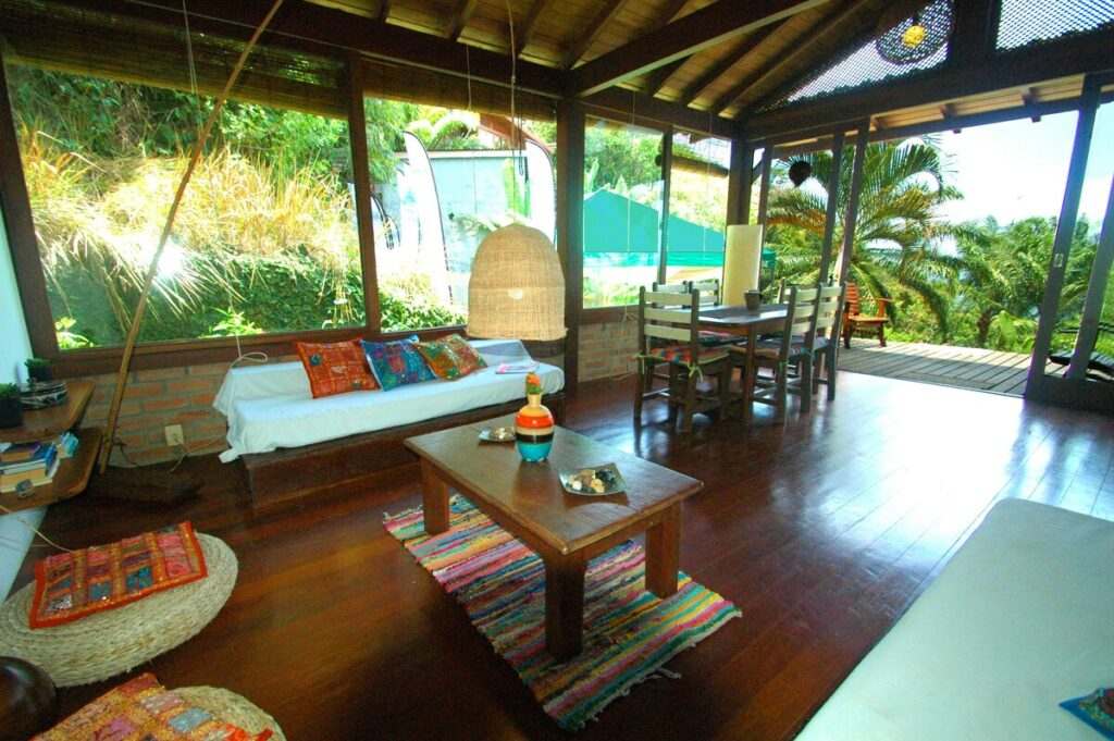airbnb Casa com Vista do Oceano no Morro de São Paulo