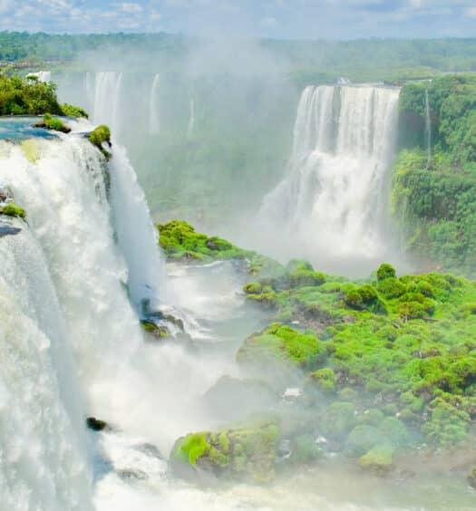 As Cataratas para ilustrar o post Pousadas em Foz do Iguaçu