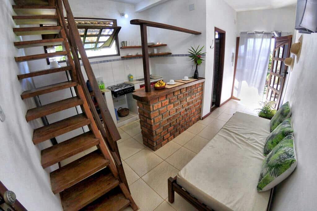 airbnb Duplex Verde Mar a 200 m da Praia no Morro de São Paulo