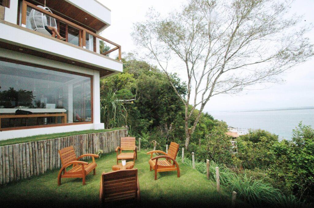 airbnb Excelente Casa com Maravilhosa Vista do Mar no morro de são paulo