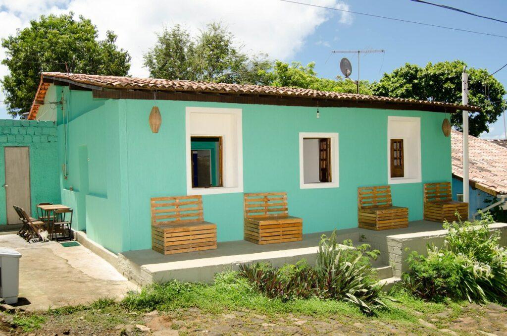 Um dos Airbnb em Fernando de Noronha