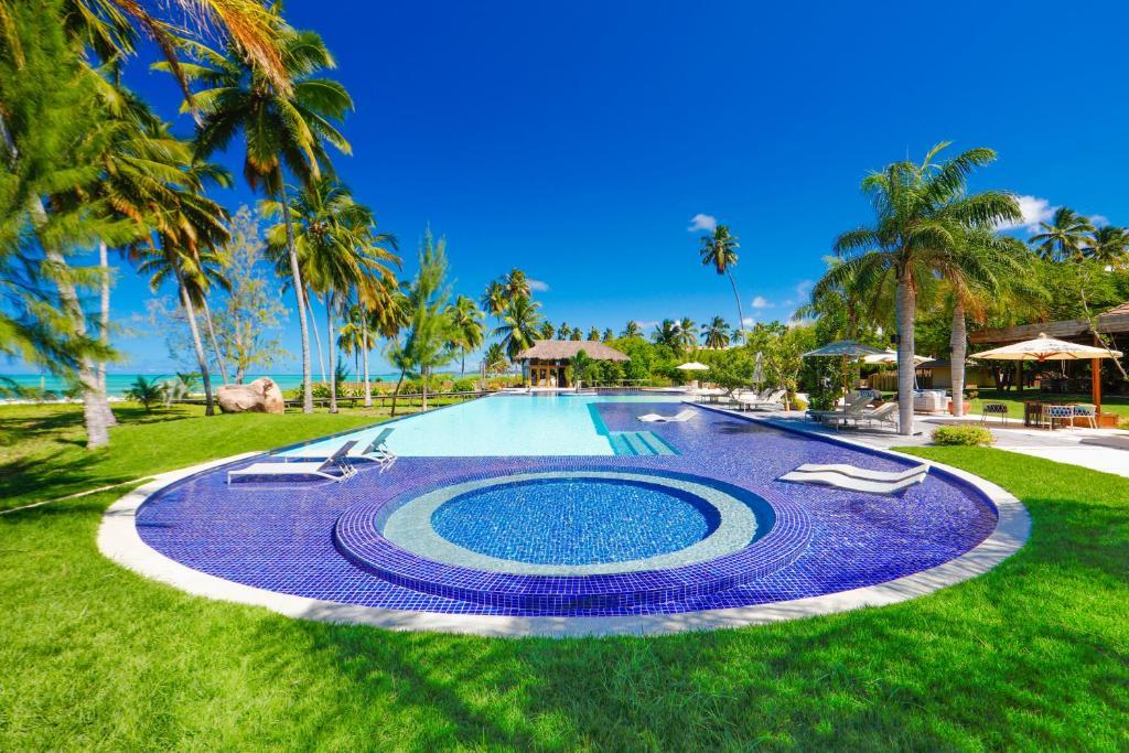 piscina do Anttunina Pousada e SPA em Maragogi