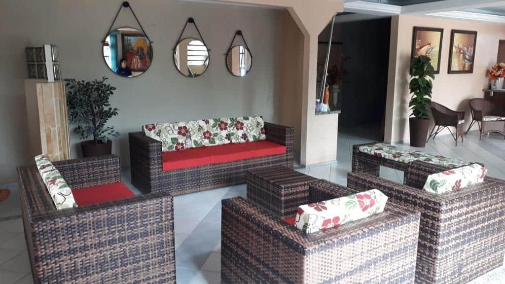 lounge compartilhado da Pousada Recifes de Corais