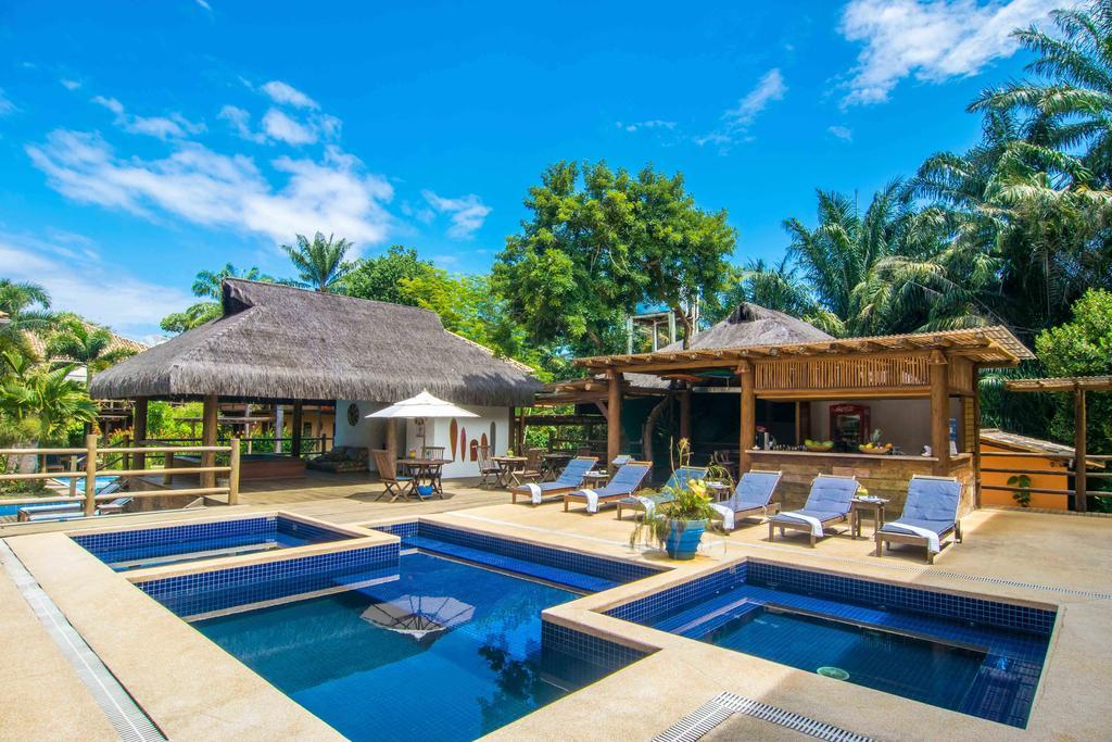 piscina da pousada Vila do Dengo em itacaré