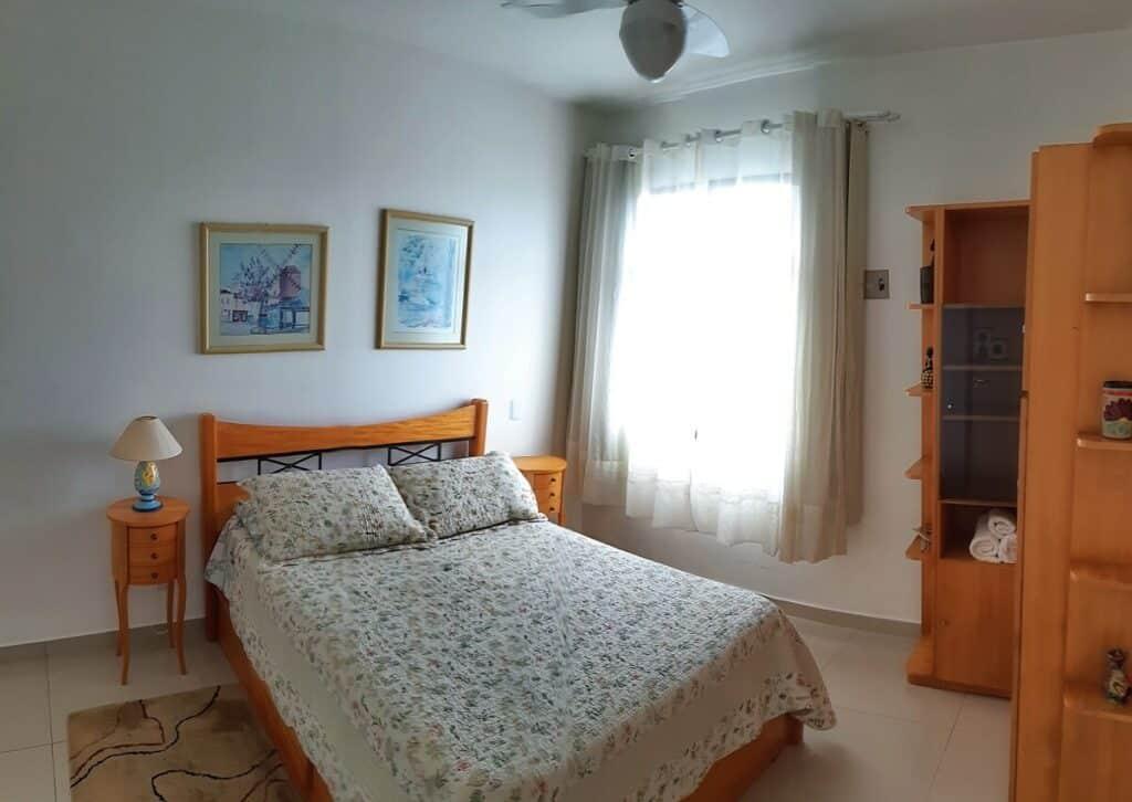 quarto do Apartamento Aconchegante na Orla de Atalaia