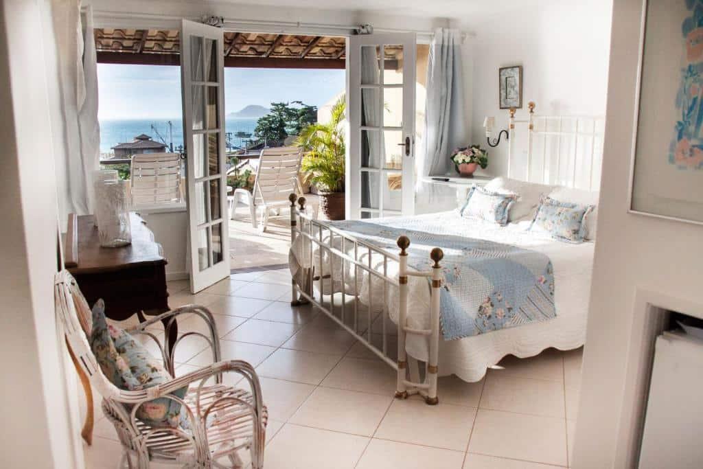 quarto da Pousada Baía Bonita