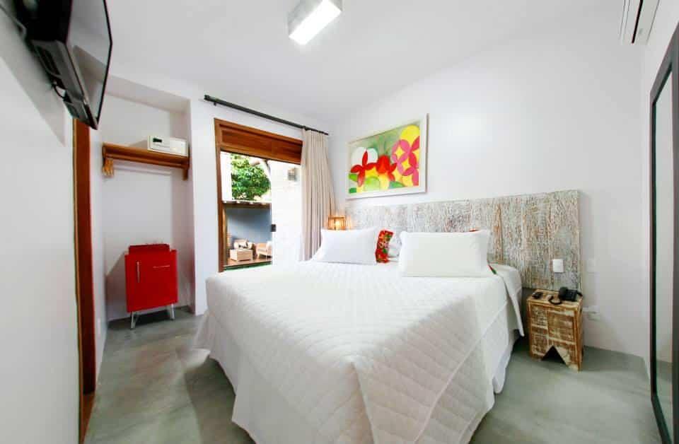 quarto da Pousada Villa Maeva Itacaré
