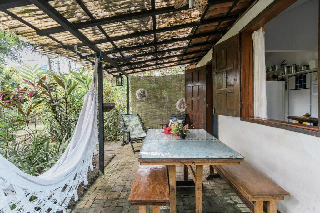 airbnb Romântica Casa de Praia em morro de são paulo