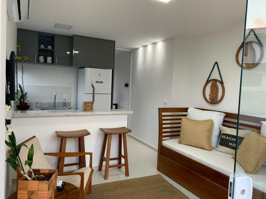 airbnb Sea Cliff - Belo Apartamento com Vista para o Mar no Morro de São Paulo