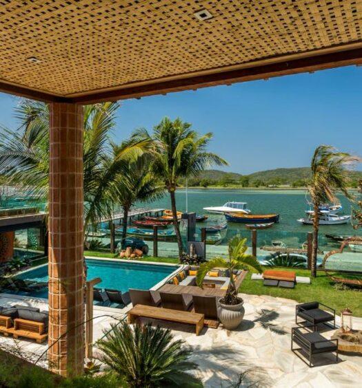 vista da Bravo Pousada Design em Cabo Frio