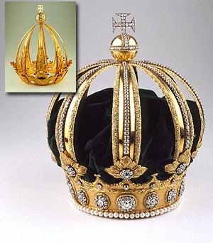 coroa do museu imperial em Petrópolis