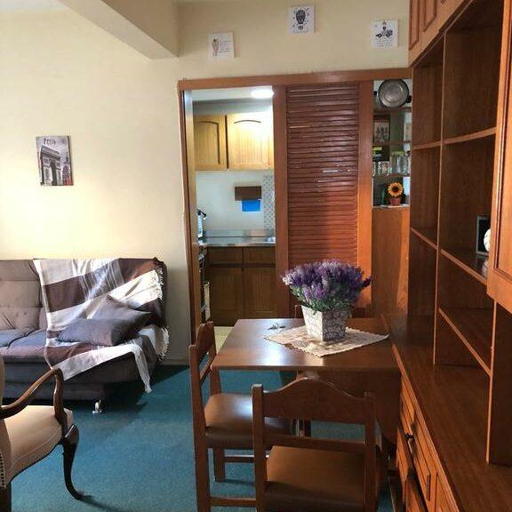 cozinha do Apart hotel Centro Porto Alegre