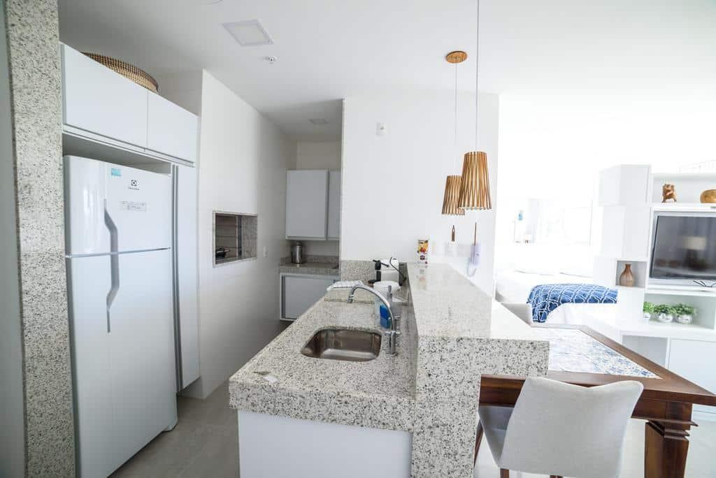 cozinha do Loft Barra
