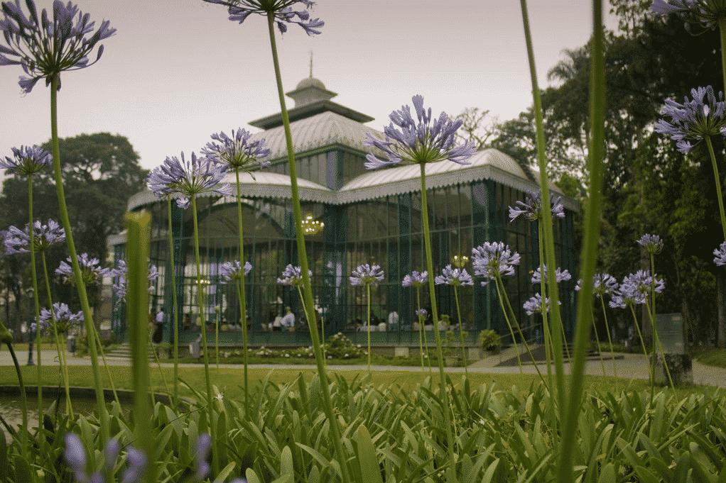 jardim do palácio em petrópolis