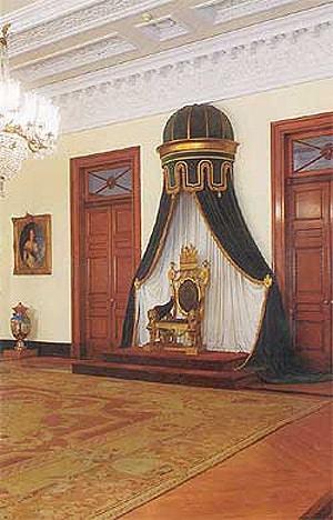 trono do imperador