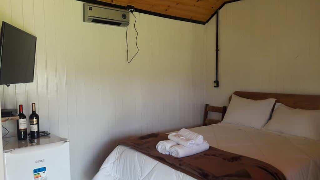quarto das Cabanas Do Casarão Pousada Rural
