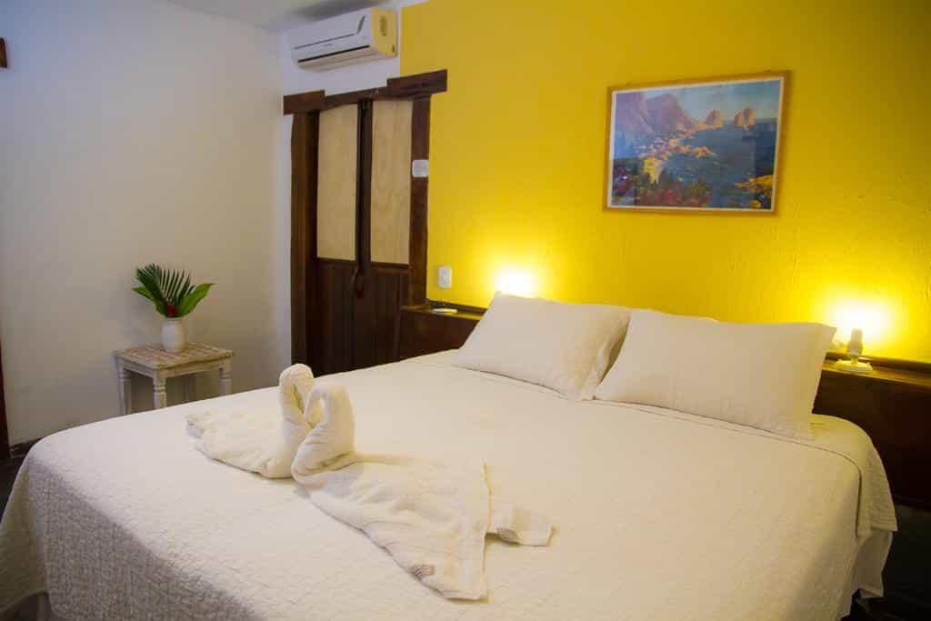 quarto do Novo Hotel Galeão