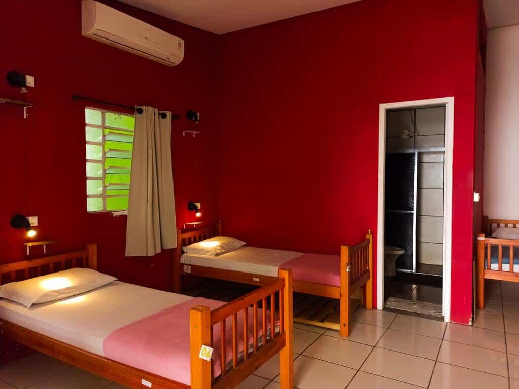 quarto da POA Eco Hostel