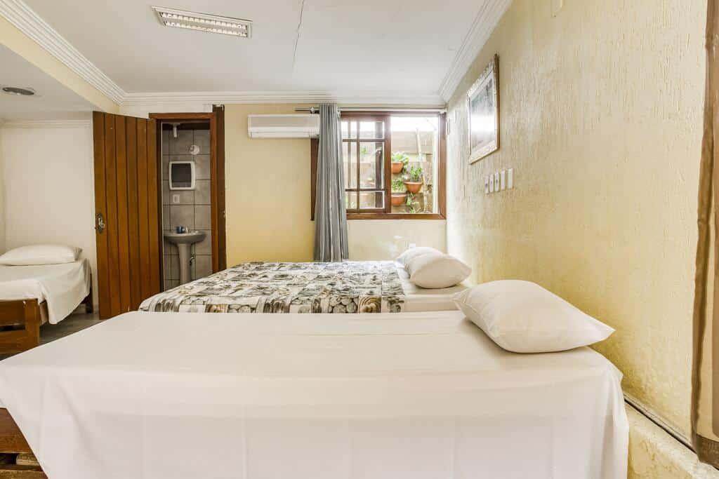 quarto da Pousada Lago De Garda