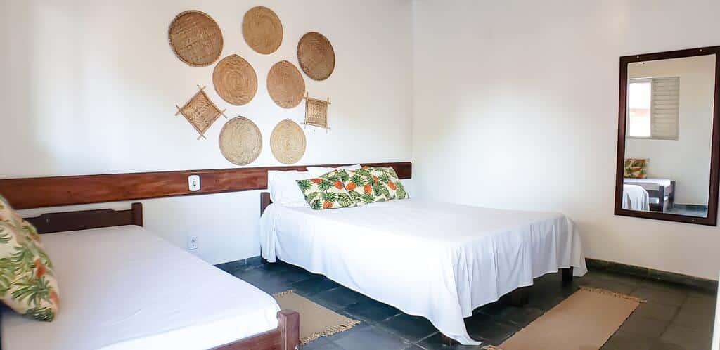 quarto da Pousada Vila Aconchego - Rede Bem Bahia