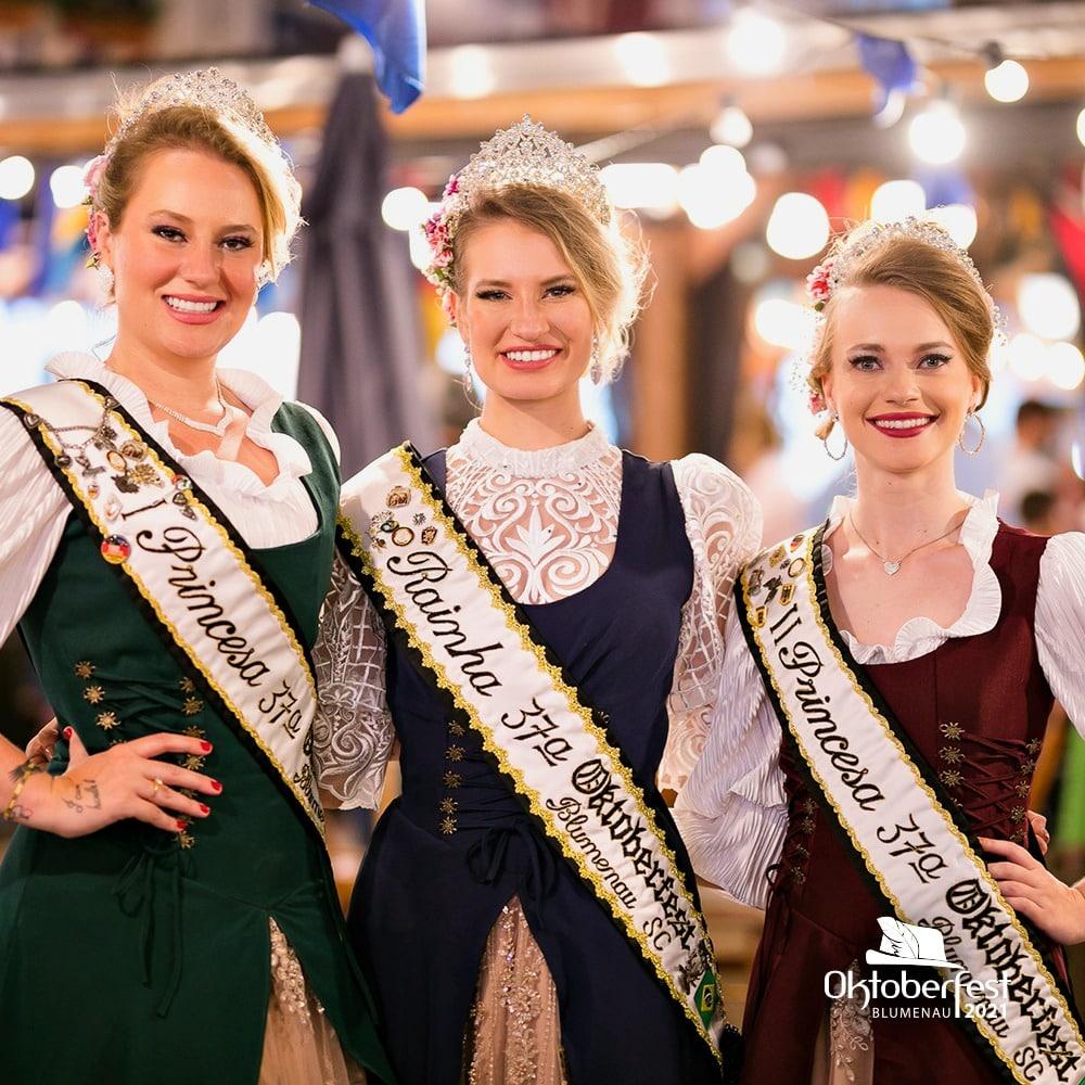 Realeza da Oktoberfest Blumenau