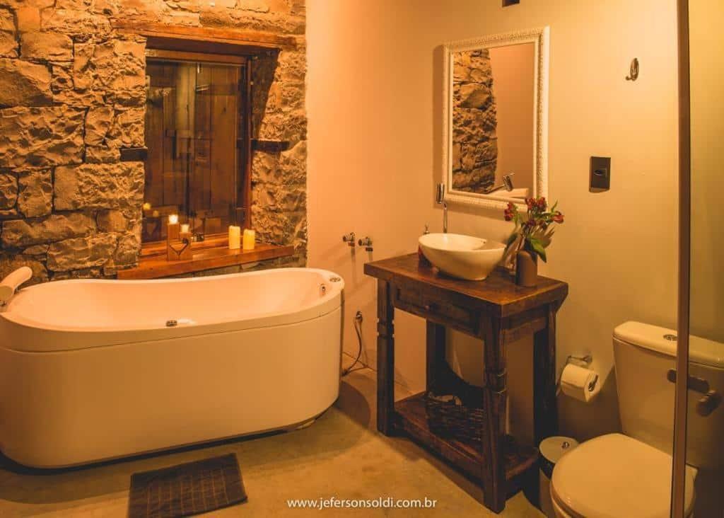 banheiro da Casa Vêneto