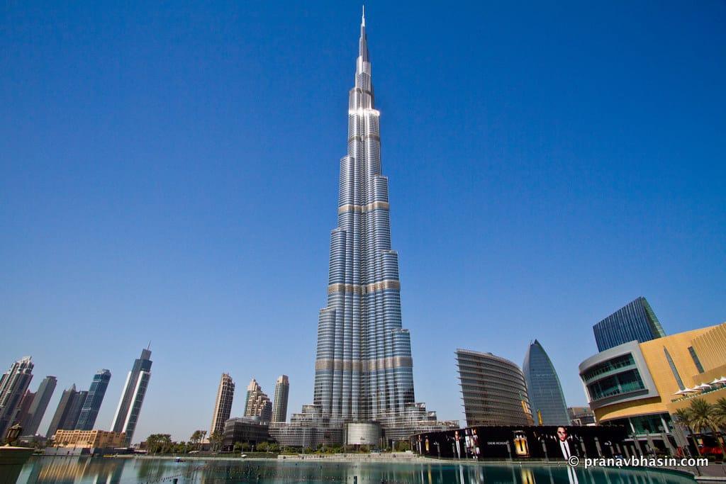 O maior prédio do mundo, Burj Khalifa