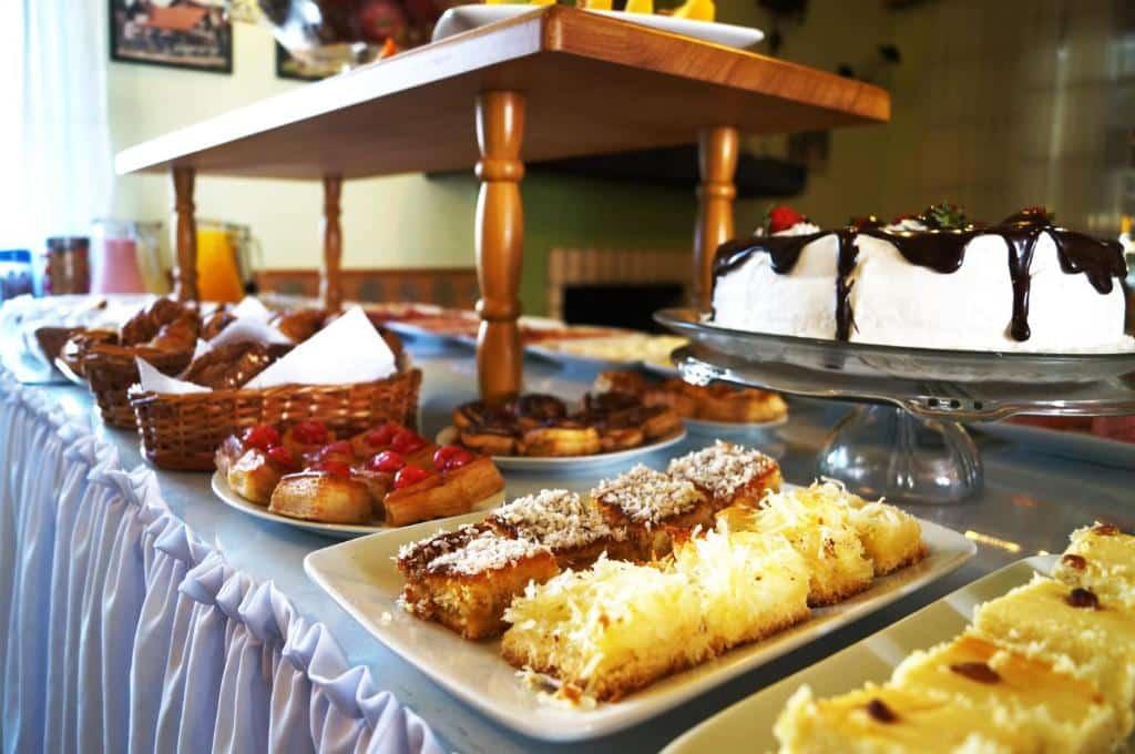 café da manhã da Pousada Park Haus