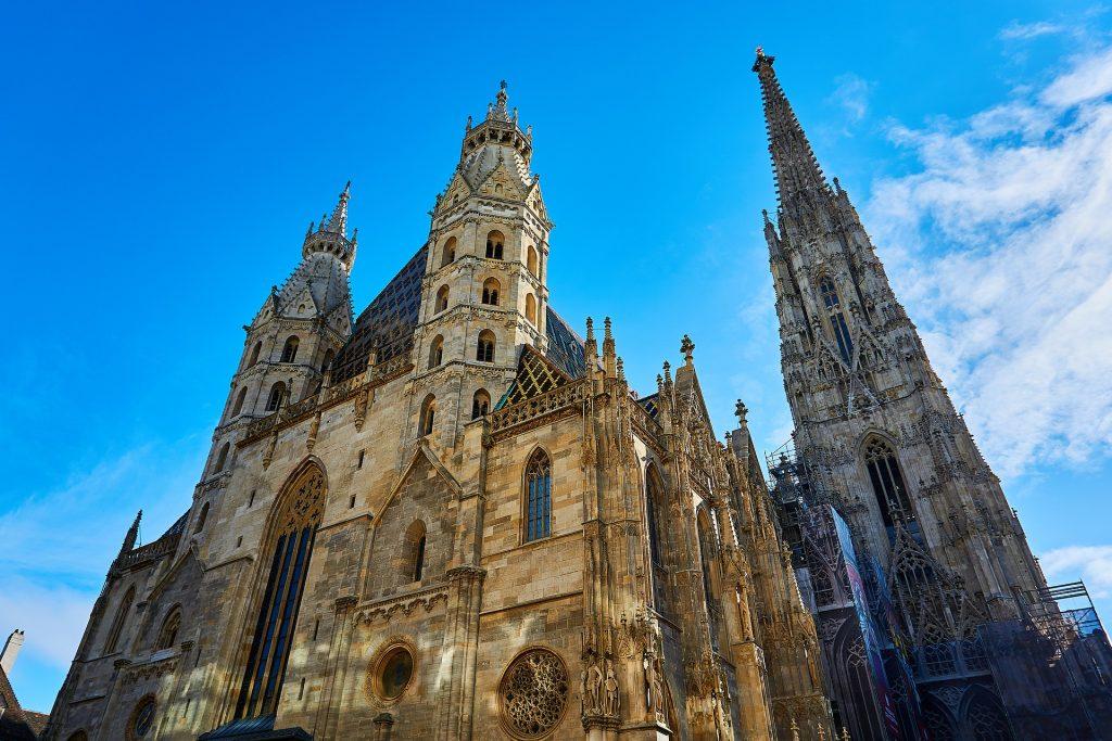 catedral de são estevão dos pontos turisticos na austria