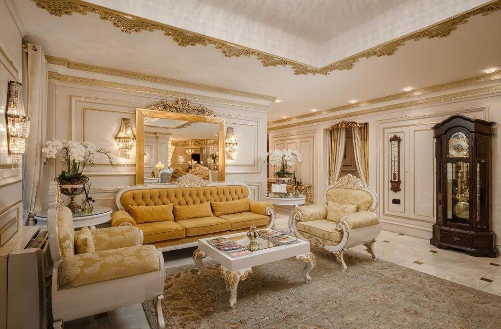 Saguão do melhor hotel do mundo em Gramado - Colline de France