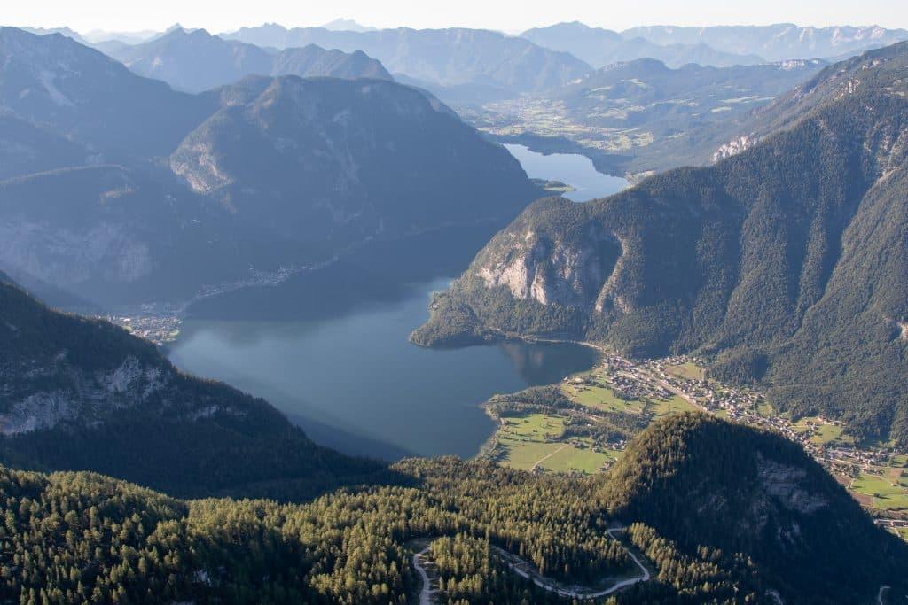 Dachstein nos pontos turisticos da ustria