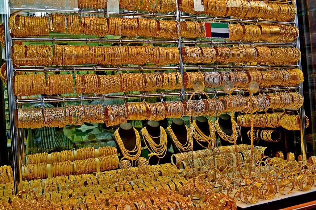 Gold Souk, uma das opções de o que fazer em Dubai