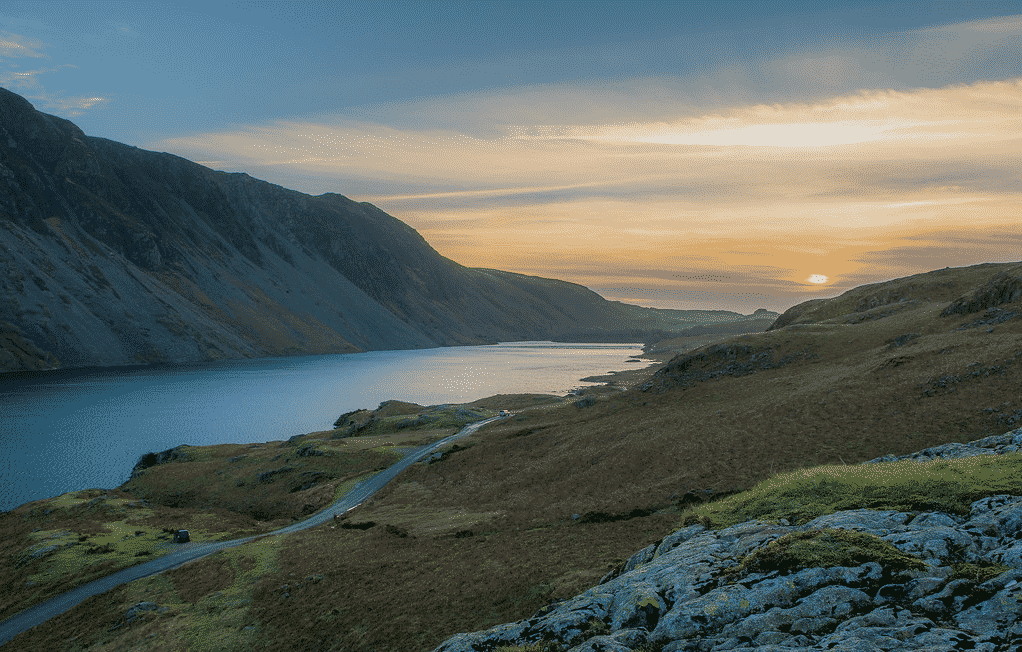 lake district national park na inglaterra