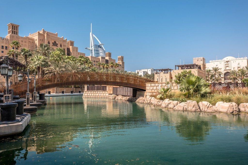 Parte do Madinat Jumeirah, uma das opções de o que fazer em Dubai