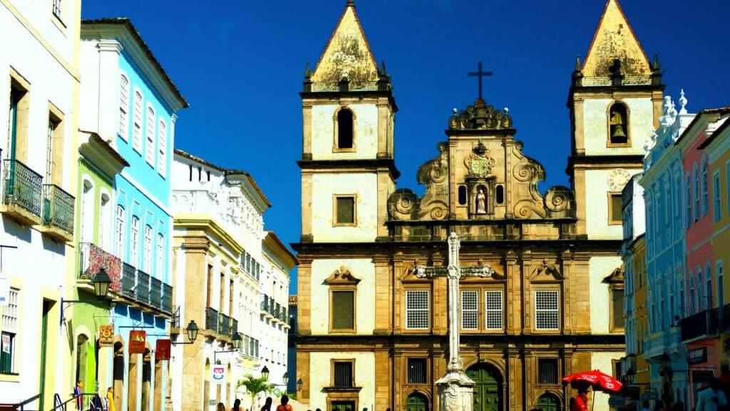 Igreja de São Francisco, no Pelourinho em Salvador - Bahia