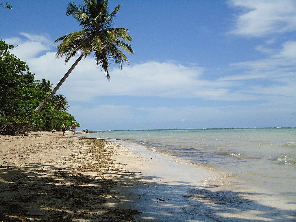 Orla da Praia de Moreré, em Boipeba