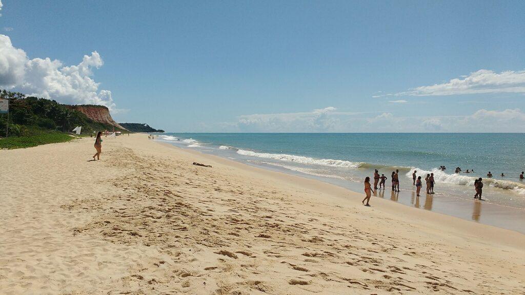 Uma das praias paradisíacas de Porto Seguro
