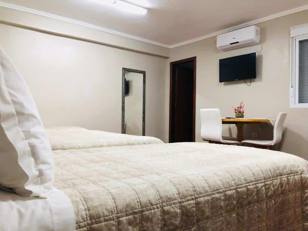 quarto do Hotel do Estudante
