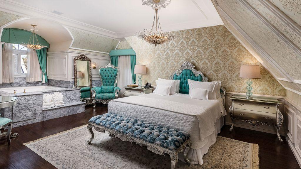 Suíte Cian do melhor hotel do mundo em Gramado - Colline de France