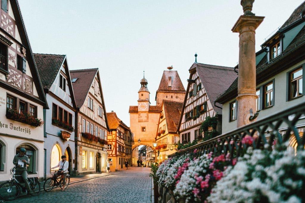 Cidade de Tauber, na Alemanha - como fazer seguro viagem Europa