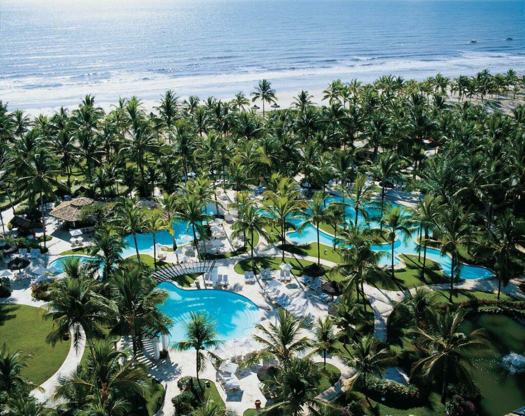 Um dos hotéis indicados para lua de mel na Bahia