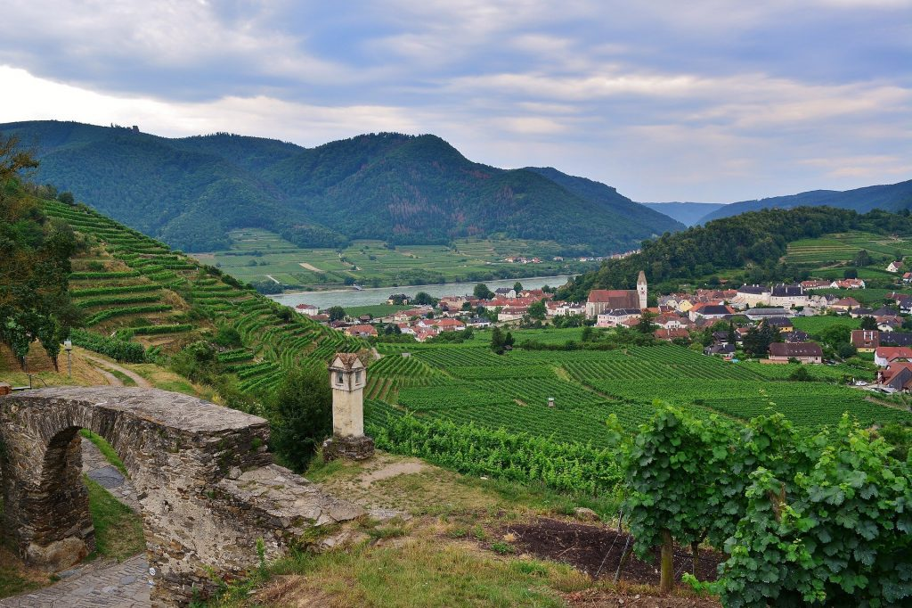 wachau nos pontos turisticos na austria