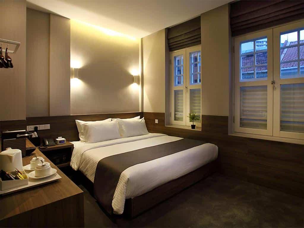 Um dos hotéis baratos em Singapura