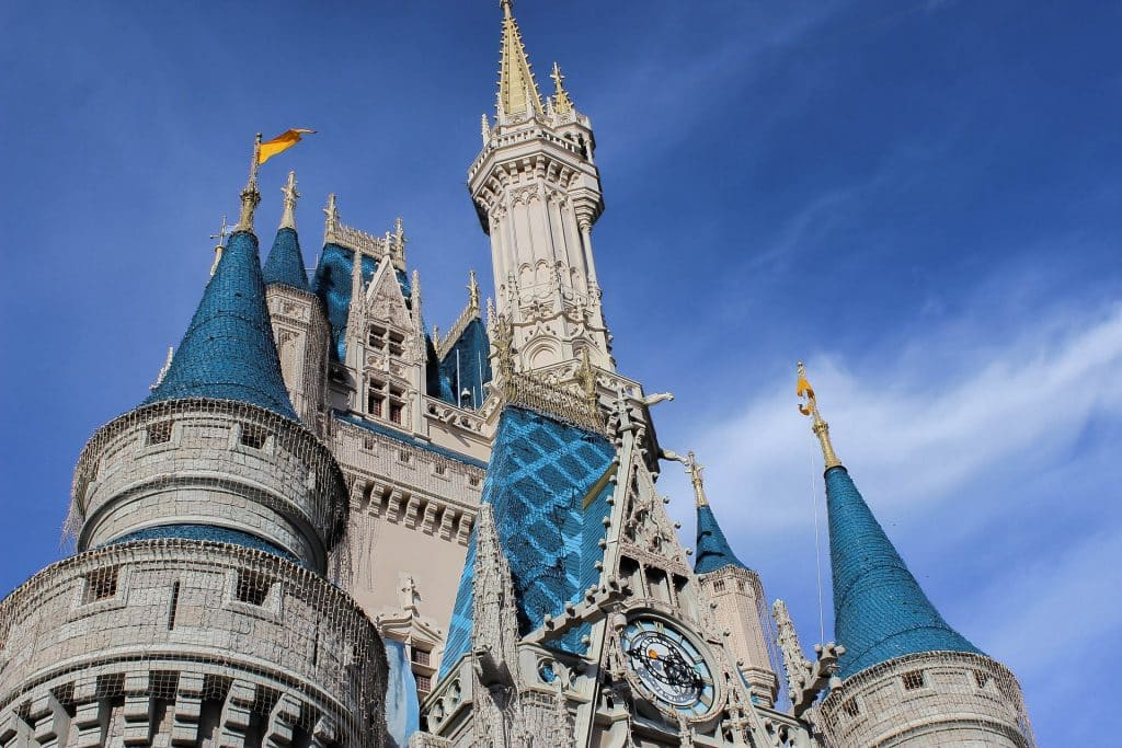 castelo magic kingdom na disney