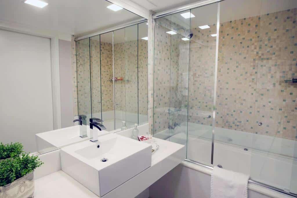 banheiro da Swan Novo Hamburgo