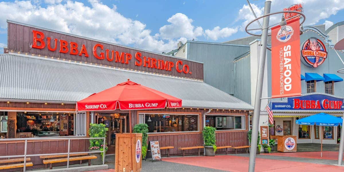 restaurante Bubba Gump Shrimp em orlando
